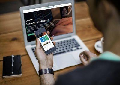 toContent – Homepage, Webdesign für Content Agentur in Passau, Niederbayern